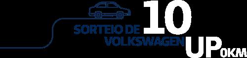 Sorteio de 10 Volkswagem Up 0km